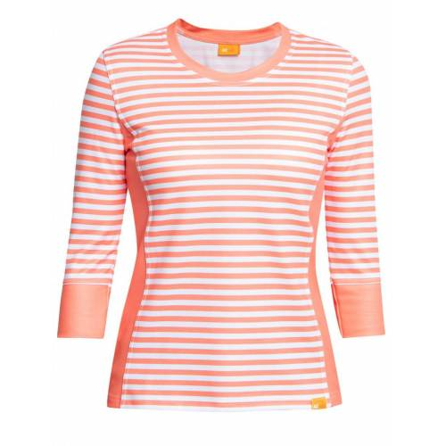 iQ-UV Damen UV T-Shirt Streifen Damen Outdoor