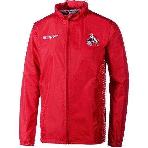 Uhlsport 1.FC KÖLN SCORE REGENJACKE rot/weiß