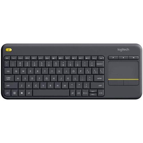 Logitech K400 Plus - Funktastatur - schwarz