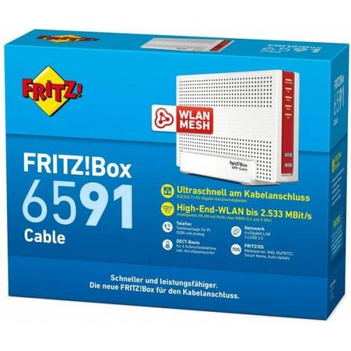 AVM FRITZ!Box 6591 Cable - WLAN-Router