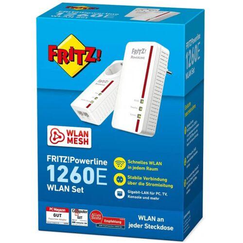 AVM FRITZ! Powerline 1260E WLAN Set (2 Stück)
