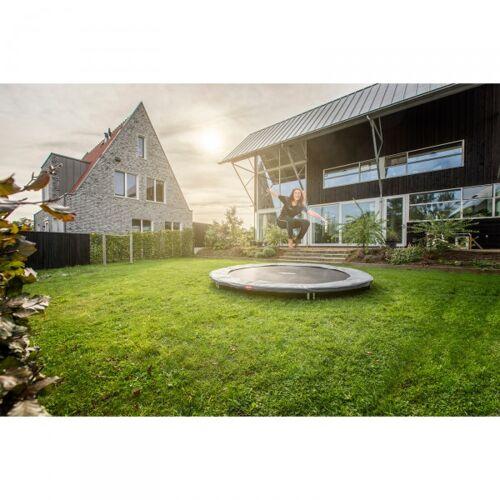 Berg Gartentrampolin InGround Favorit 380 cm grün