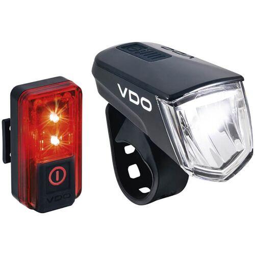 VDO Beleuchtungsset ECO Light M60, Fahrradlicht, Fahrradzubehör