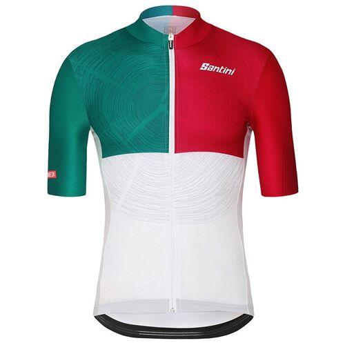 Santini La Vuelta Euskadi 2018 Kurzarmtrikot, für Herren, Größe S, Radtrikot,