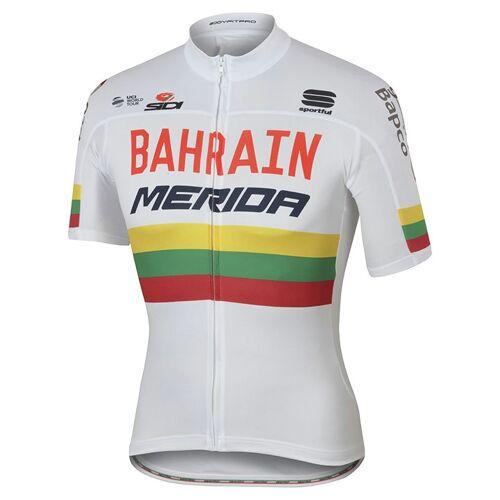 Sportful BAHRAIN-MERIDA Litauischer Meister 2017, für Herren, Größe M, Fahrradt