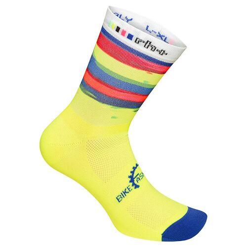 RH+ Fashion 15 Radsocken, für Herren, Größe L-XL, Socken Radsport, Mou