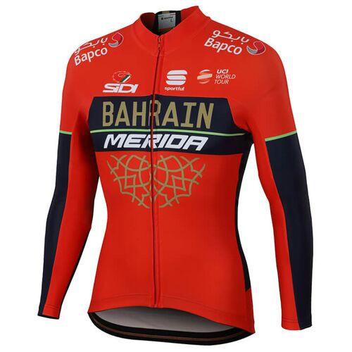 Sportful BAHRAIN - MERIDA Pro 2018 Langarmtrikot, für Herren, Größe M, Fahrradt