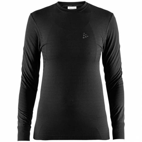 CRAFT Damen Langarm Unterhemd Warm Comfort, Größe S, Rad Unterhemd, Ra