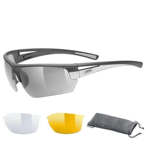 UVEX Brillenset Gravic Brille, Unisex (Damen / Herren), Fahrradbrille,