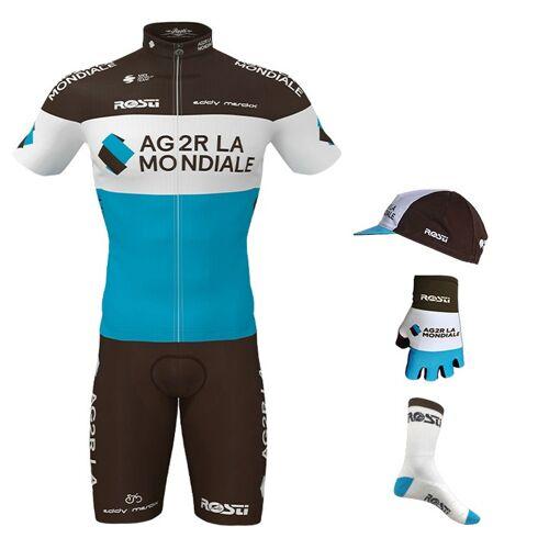 Rosti Maxi-Set AG2R LA MONDIALE 2020 (5 Teile), für Herren, Fahrradbekleidun