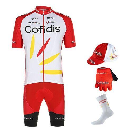 Nalini Maxi-Set COFIDIS 2020 (5 Teile), für Herren, Fahrradbekleidung