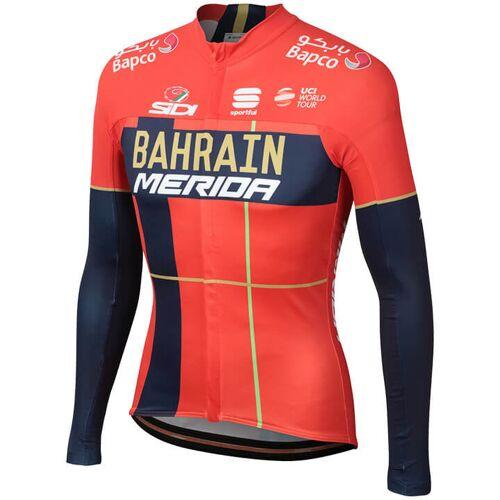 Sportful BAHRAIN - MERIDA Pro 2019 Langarmtrikot, für Herren, Größe M, Fahrradt