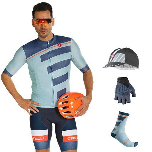 CASTELLI Trofeo Maxi-Set (5 Teile), für Herren, Fahrradbekleidung
