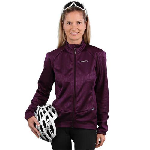 CRAFT Rime Damen Winterjacke, Größe L, Fahrradjacke, Fahrradbekleidung
