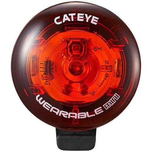 CATEYE Sicherheitsleuchte Wearable Mini SLWA10, Fahrradlicht, Fahrradz