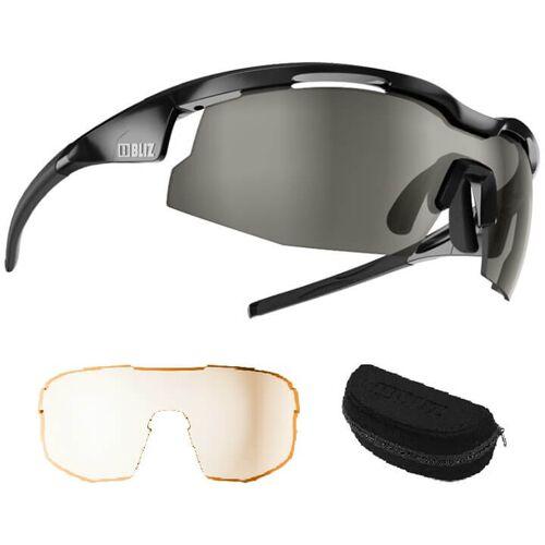 BLIZ Brillenset Sprint shiny Brille, Unisex (Damen / Herren), Fahrradb