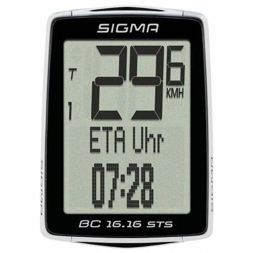 Sigma BC 23.16 STS Radcomputer, Fahrradcomputer, Fahrradzubehör