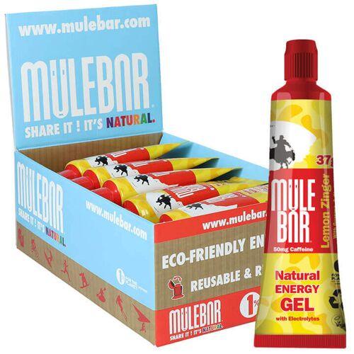 Mule Bar MULEBAR Energie Gel Kicks Lemon Zinger 24Stck./Karton, Energie Gel, Sp