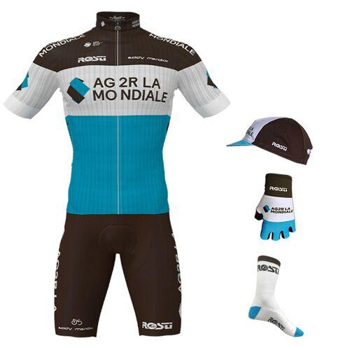Rosti Maxi-Set AG2R LA MONDIALE Pro Race 2020 (5 Teile), für Herren, Fahrrad