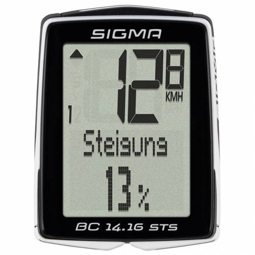 Sigma BC 14.16 STS Radcomputer, Fahrradcomputer, Fahrradzubehör