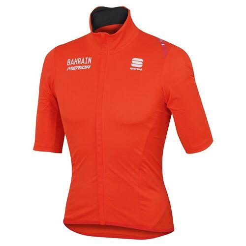Sportful BAHRAIN-MERIDA Kurzarm-2017 Light Jacket, für Herren, Größe S, Fahrrad