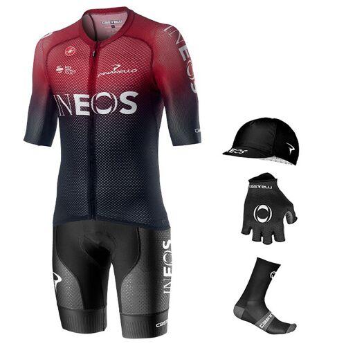 Castelli Maxi-Set TEAM INEOS Climber's 2020 (5 Teile), für Herren, Fahrradbekle