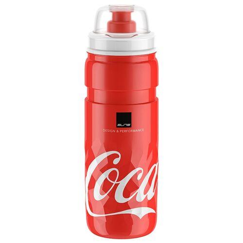 ELITE Ice Fly Coca Cola 500 ml Trinkflasche, Fahrradflasche, Fahrradzu