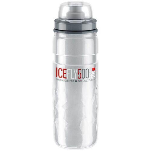 ELITE Thermoflasche Ice Fly 500 ml, Fahrradflasche, Fahrradzubehör