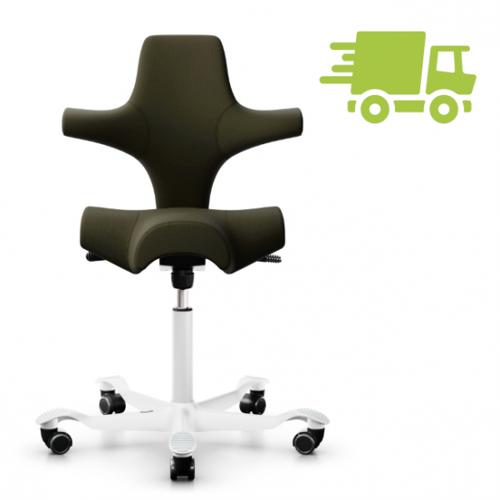 HAG Capisco 8106 Sattelstuhl Bürostuhl in Stoff Select grün