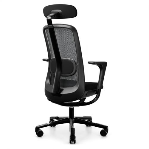 HAG SoFi Mesh 7500 Bürostuhl schwarz mit Nackenstütze
