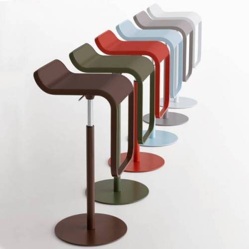 lapalma LEM Barhocker fixe Höhe 80 cm - sechs neue Farben