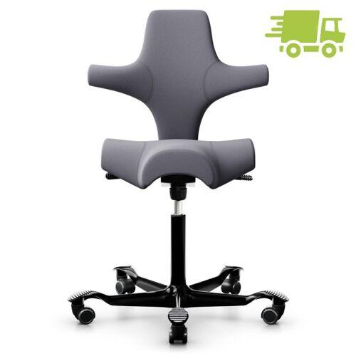 HAG CAPISCO 8106 Bürostuhl mit Sattelsitz Stoff Remix hellgrau - schnell geli...