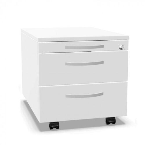 Palmberg Rollcontainer ORGA PLUS mit 2 Schüben 1-3-3 und Materialfach