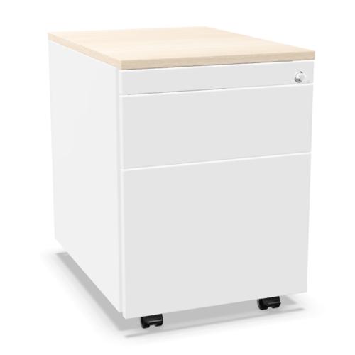 Palmberg Rollcontainer ORGA PLUS 1-3-6 mit Greifprofilen