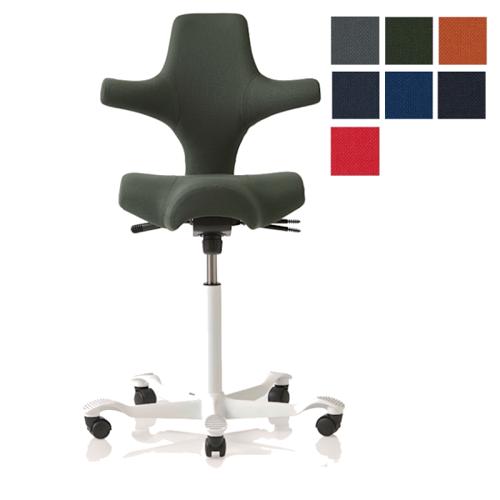 HAG Capisco 8106 Sattelstuhl Bürostuhl in Stoff Select