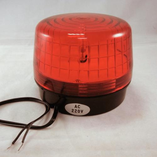 Polizei-Blitzlicht, rund, rot, 12V