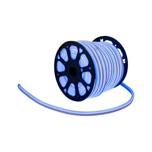 LED Lichtschlauch NEON FLEX 230V Slim - BLAU - 50 Meter Rolle