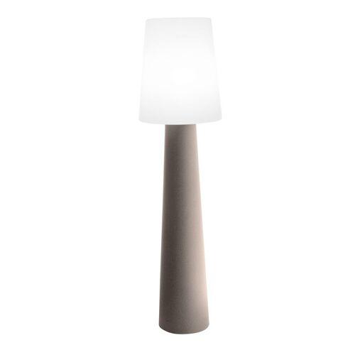 """Outdoor XL Stehlampe No. 1 """"Sand"""" H:160cm - E27 Fassung - Außenleuchte IP44"""
