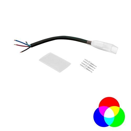Anschlusskabel - LED NEON FLEX 230V Slim RGB - Anschlusskabel mit offenen Enden - Anschlusskit
