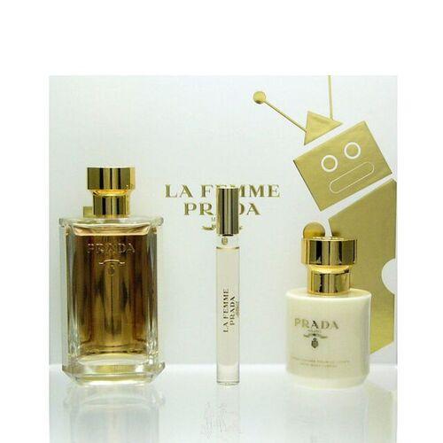 Prada La Femme Luxus Set - Eau de Parfum 100 ml + 10 ml + BL 100 ml