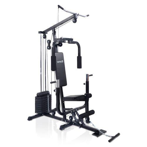 Costway Fitnessstation Kraftstation Hantelbank Fitnessgerät Heimtrainer Multistation Fitness