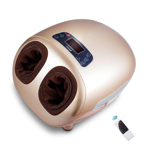 Costway Fußmassage Elektrische Shiatsu Fußmassagegerät inkl. 5 Massagetypen 45 x 37 x 30 cm