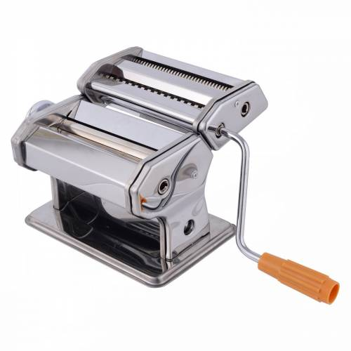 Costway Nudelmaschine Pastamaschine Spagetti Nudel Pasta Lasagne Maker mit Aufsatz