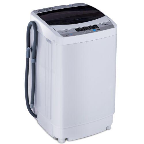 Costway Waschmaschine Waschvollautomat mit Pump Display