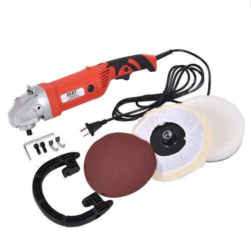 Costway Profi Poliermaschine Auto Polierer Schleifmaschine 1500W 1000-3200 U/min