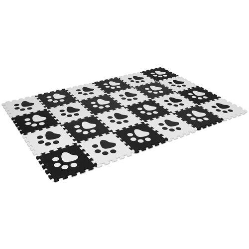 Costway 24 Stk Puzzlematten Puzzle Kinderteppich Spielteppich