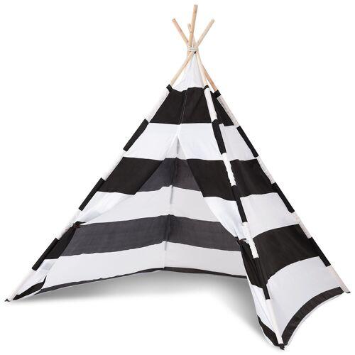Costway Spielzelt Indianerzelt Kinderzelt Tipi Zelt Stoffzelt Spielhaus Zelt für Kinder