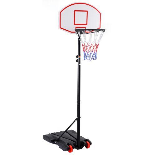 Costway Basketballständer mobiler Basketballkorb mit Ständer Höhenverstellbar