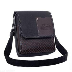 Premium Vintage-Leder Crossbody Umhängetasche Aktentasche Tasche Männer