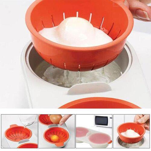 Mikrowelle Eierkocher Doppel Tasse Eierkocher Werkzeuge Küchenhelfer Koch
